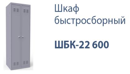 Шкаф быстросборный ШБК-22 600